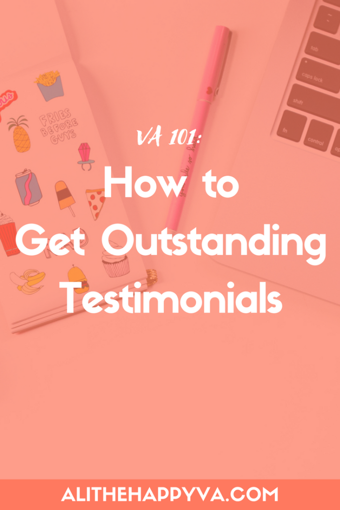 If you want to land more high-quality clients in your virtual assistant business, you'll need strong testimonials. This post helped me figure out how to get them + what specific questions to ask.